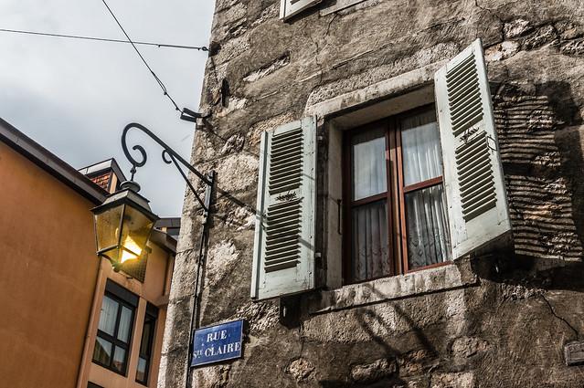 Window, Annecy, France