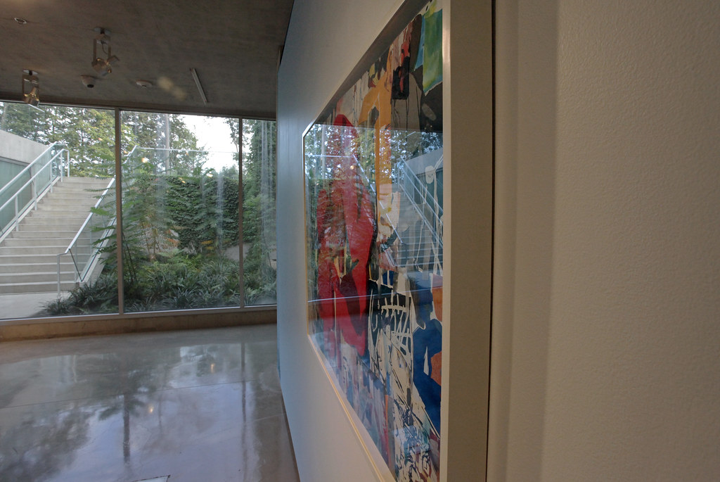 A view of the Bibliowicz Family Gallery in Milstein Hall.