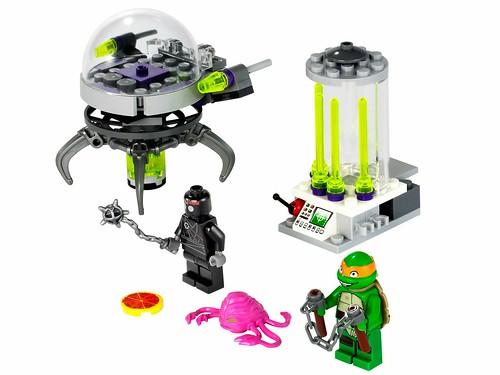 Nickelodeon Teenage Mutant Ninja Turtles LEGO 79100 Kraang Lab Escape 00