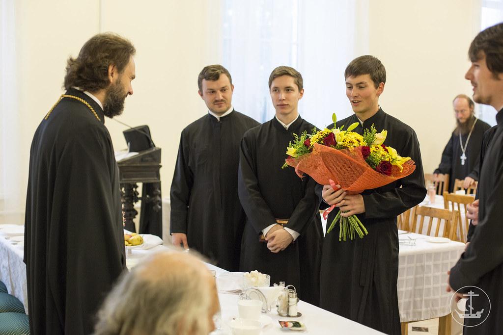 6 октября 2013, Поздравление ректора с пятилетием ректорства