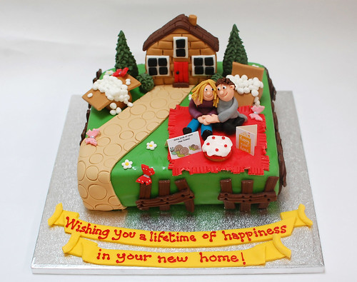 Gingerbread House Cake How To Cake It