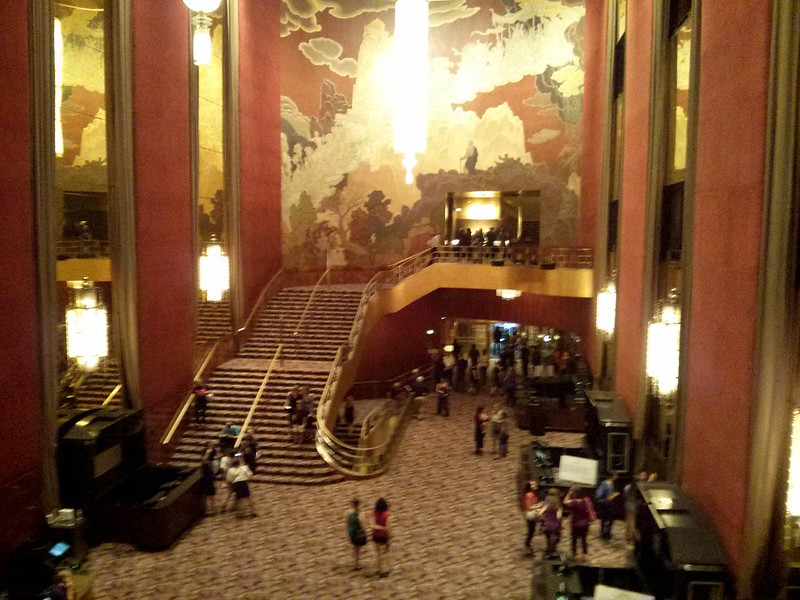 Radio City Music Hall Foyer | New York City, USA
