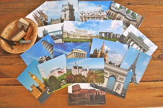 European Landmark Cards and Objects
