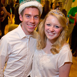 HMC-001 -- Homecoming royalty: King Zach Reed '14 and Queen Marjorie Miller '14.