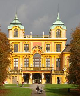 Image of Favoritepark. favorite castle germany deutschland palace schloss ludwigsburg