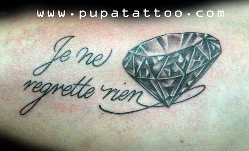 Tatuaje Diamante Pupa Tattoo, Granada by Marzia PUPA Tattoo