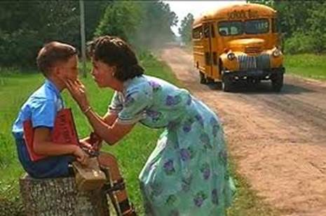 First day at school (Forrest Gump)