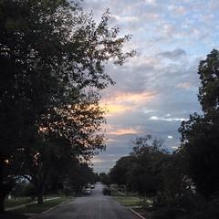 3 November 2013. 1st day of US daylight saving time. #sunset #samespotforayear
