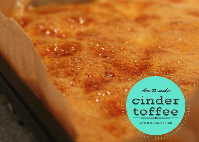 how to make easy cinder toffee