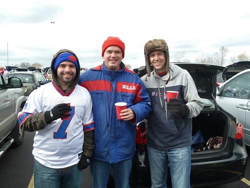 Frank, Scott and Paul at Buffalo Bills game