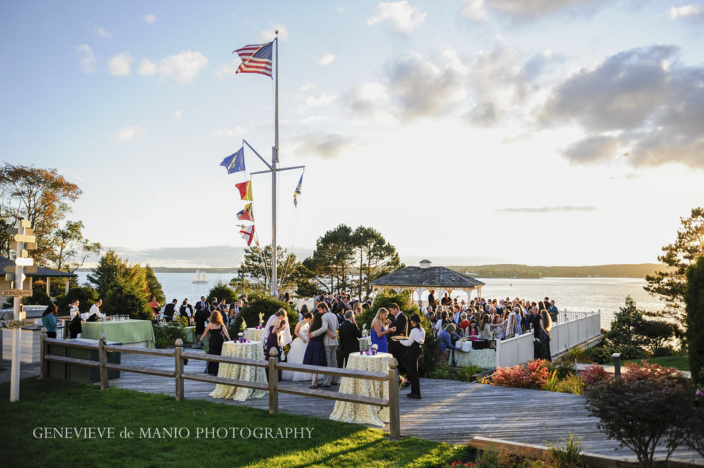 Coastal Maine Wedding Venue Spruce Point Inn Resort Amp Spa