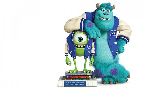 Monsters University: Divertida Secuela de Monsters Inc