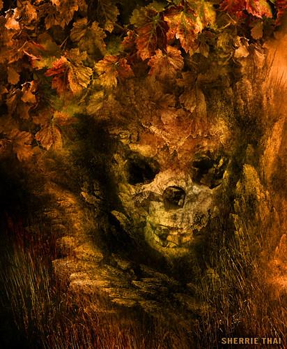 Autumn Skull