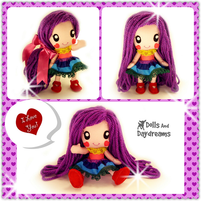 Anime Chibi Manga Kawaii Girl Cute Doll Sewing Pattern Japanese style Dolls And Daydreams copy
