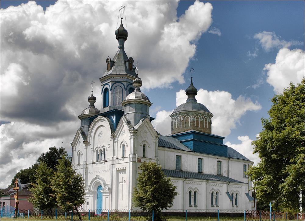 Кривошин, Церковь Покровская