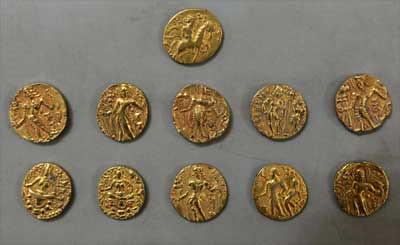 Gupta-era gold coins