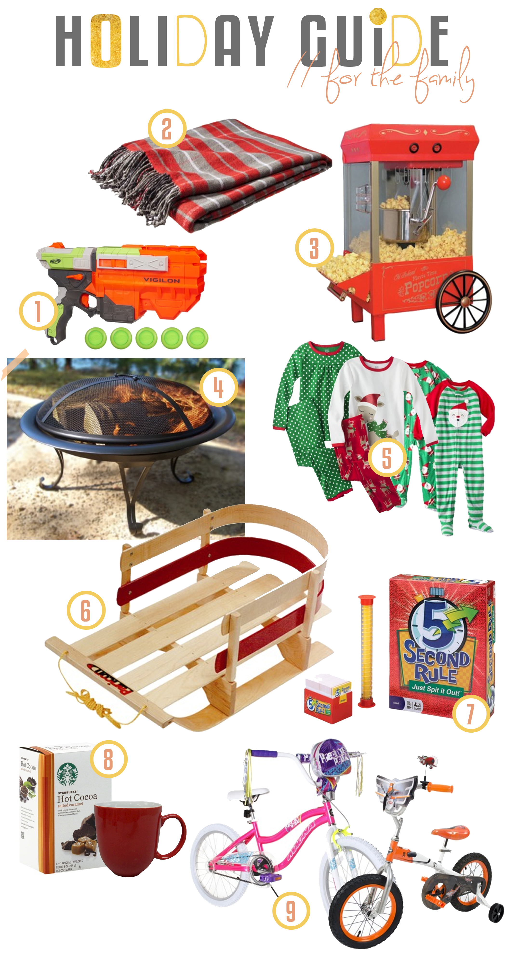 holiday gift guide for the family
