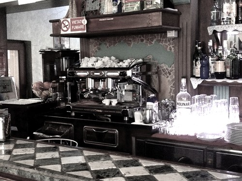 Café in Bollate Italy by Aaron Paxson