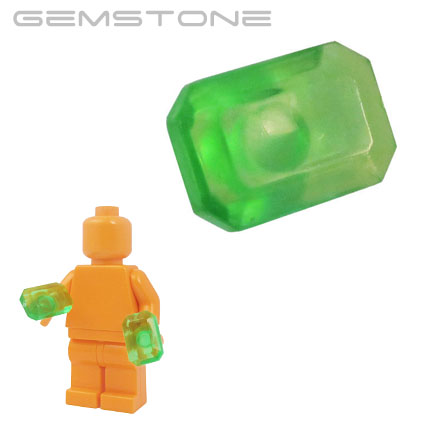 Gemstone - Trans Bright Green (Kryptonite)