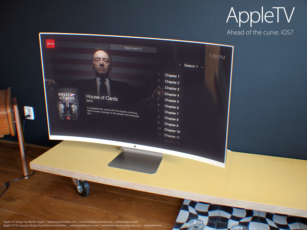 Apple TV with cool UI!