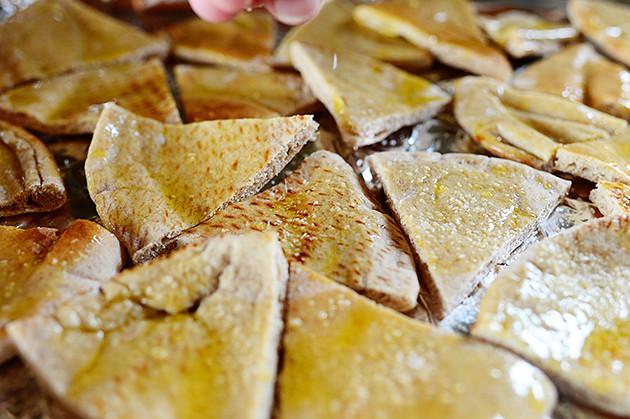 Salted Pita Chips