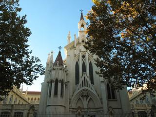 Edificio neogótico y monumental....pero en donde? * Colegio el PILAR  * Madrid