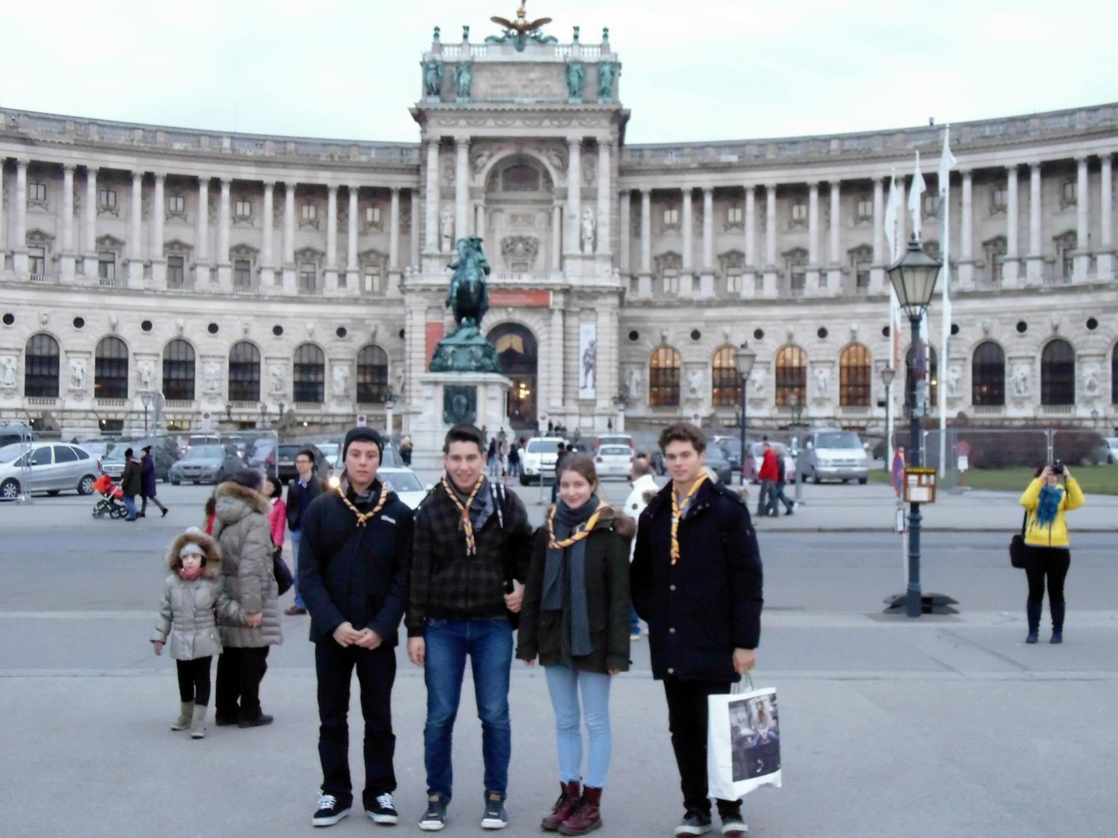 Pred Hofburgom