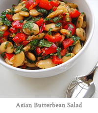 Asian Butterbean Salad