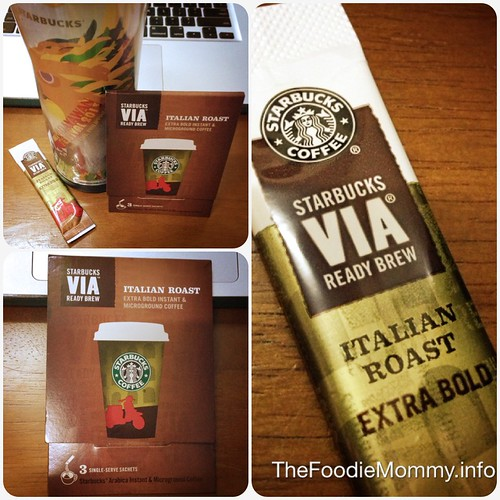 Starbucks Coffee Via Ready Brew Italian Roast Extra Bold