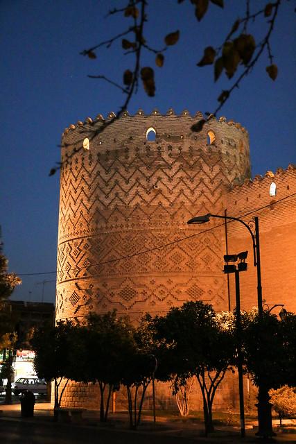 Tower of Karim Khan fortress, Shiraz シラーズ、キャリーム・ハーン要塞