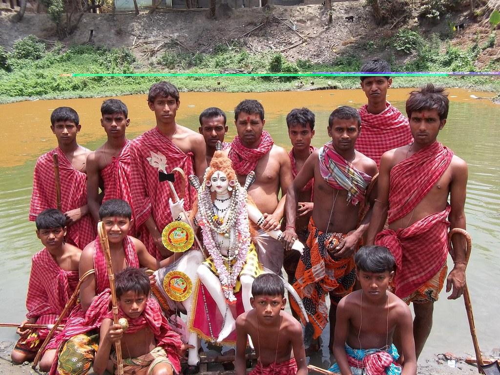 Shiv Puja April 2013 | In my village Sonatikuri | Partha