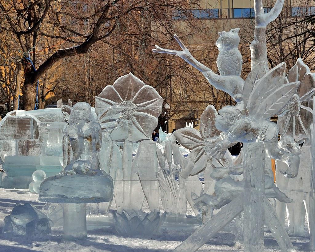 Ice sculptures # 2
