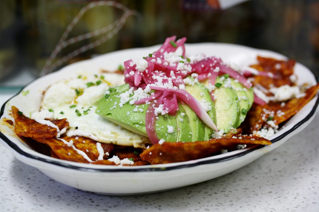 Chilaquiles With Poached Eggs And Black Beans Recipes ...