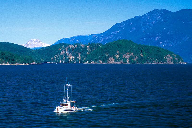 Halkett Bay Marine Park, Gambier Island, Howe Sound, British Columbia, Canada