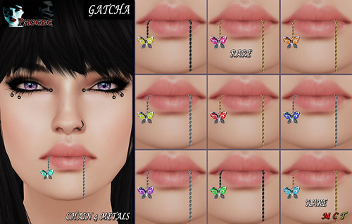 [NEW GACHA!] *P* Mesh Mouth Butterflies ~Gatcha~