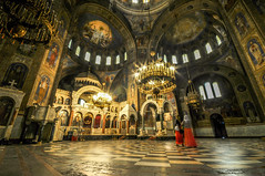 Interior - Alexander Nevsky Cathedral
