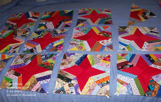 100_9097 - Quilt Blocks for Spider Web Quilt - 3-22-2014