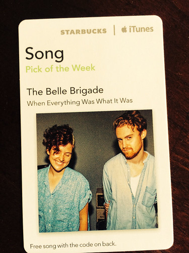 Starbucks iTunes Pick of the Week - Belle Brigade - When Everything Was What It Was