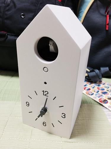 無印良品の鳩時計