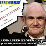 "Croatian prime minister expressed his support for President Van Rompuy's ""One country, one leader, one haristyle"" citizen homogenization initiative for europhile voters."