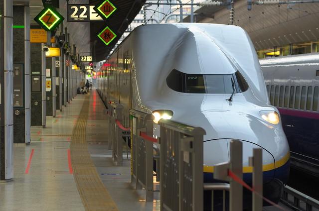Tokyo Train Story 上越新幹線 2014年3月28日