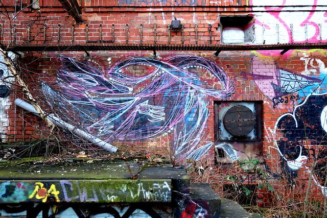 streetart | shida | urbex | bärenquell brauerei