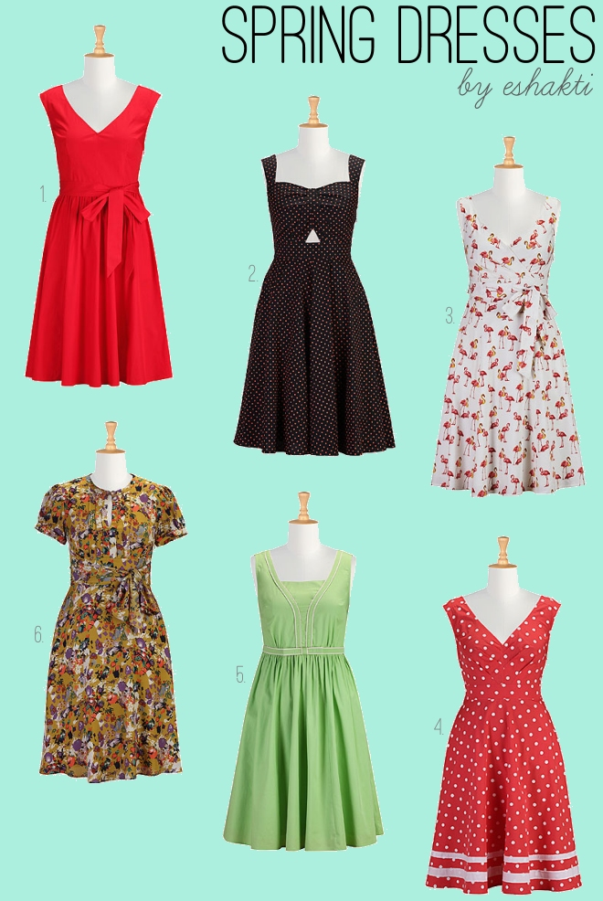 Spring Dresses by eshakti