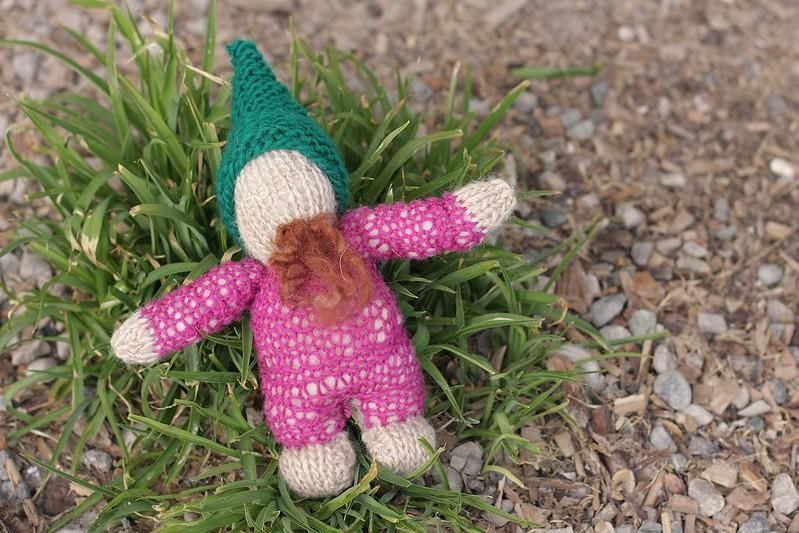 K's gnome {2nd grade Waldorf handwork}
