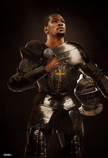 Knight Kevin Durant Art by Alijah Villian