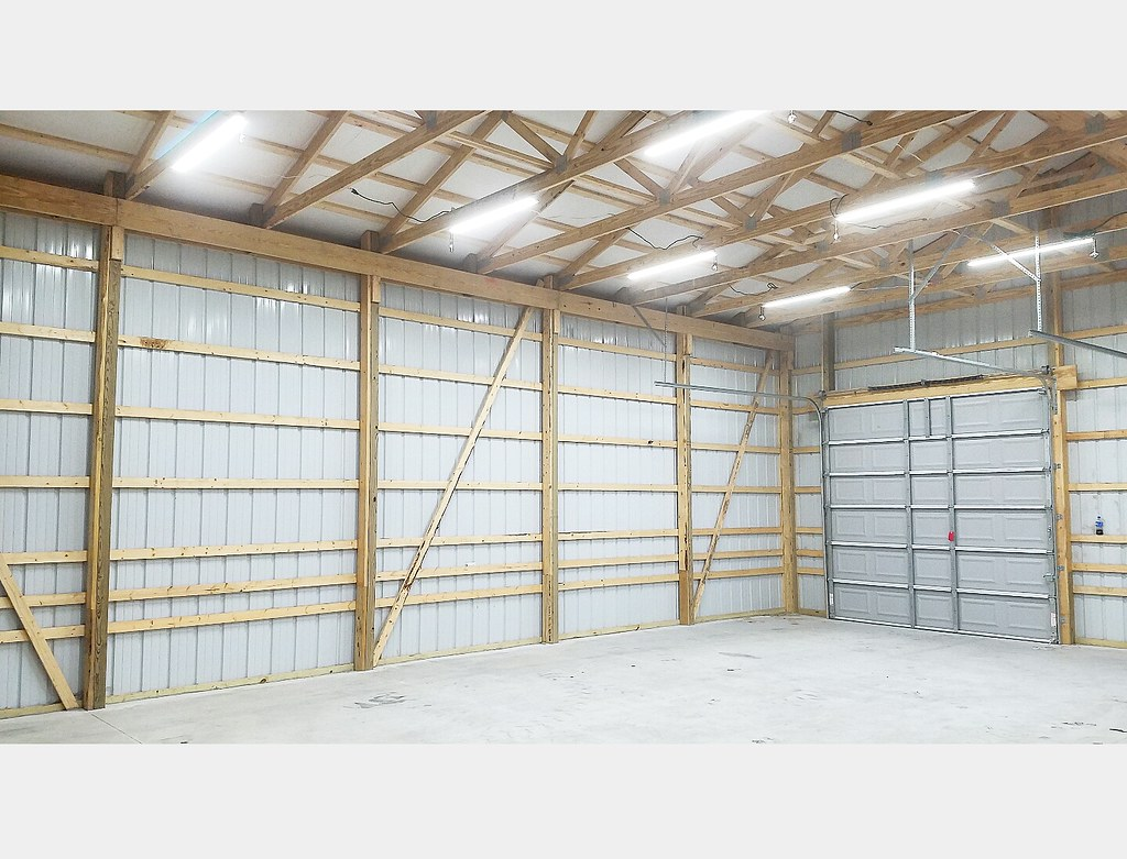 My 30x40x14 Pole Barn Build Archive The Garage Journal Board Couple Basic Electric Questions