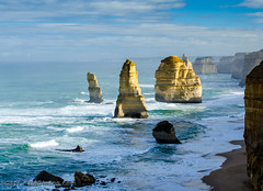 Twelve Apostles Looking South @ Port Campbell National Park - Port Campbell, Victoria, Australia