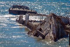 _WCB4253 Seacliff State Beach- Aptos CA- Concrete ship