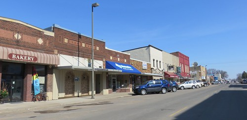 Downtown Durand, Wisconsin
