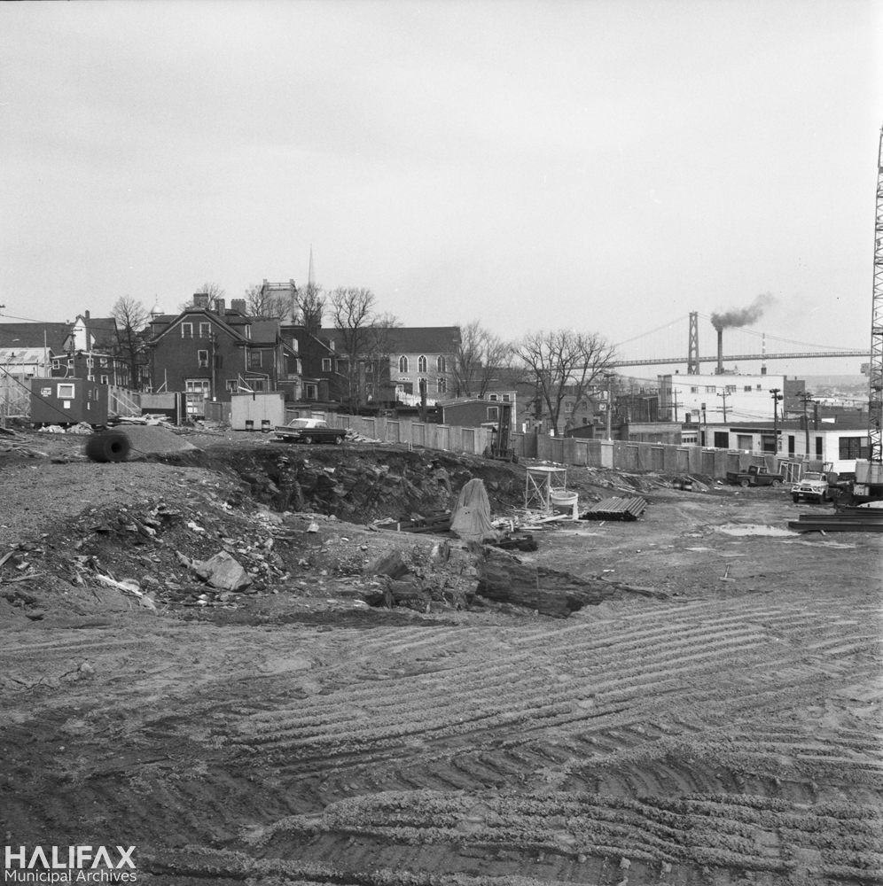 Trade Mart Building construction, 2021 Brunswick St.